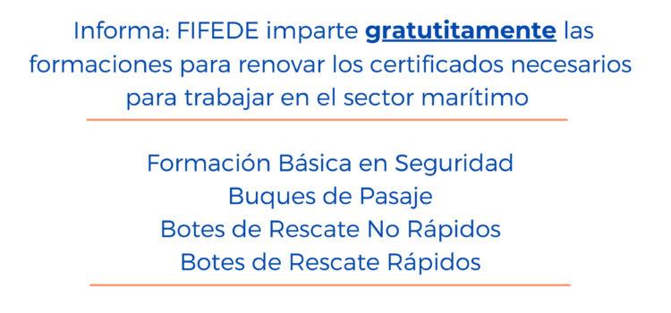 Cursos de Actualizacion del sector Maritimo impartidos por FIFEDE